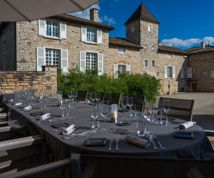 Chateau Hotel Restaurant Chateau De Besseuil Restaurant